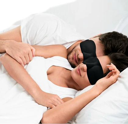 Maska na na oci spani