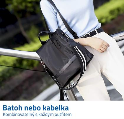 batoh a kabelka 2v1