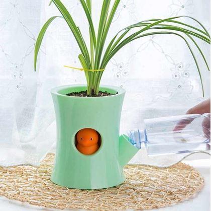 Samozavlažovací květináč - zelená
