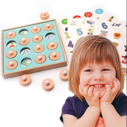 Paměťová hra s obrázky pro děti trénuje paměť