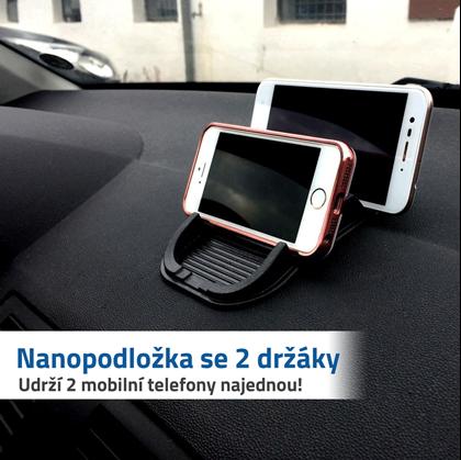Podložka na telefony do auta