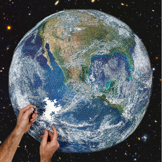 Puzzle vesmír