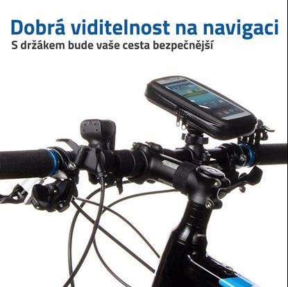 Ochranný držák na telefon na řídítka na kolo