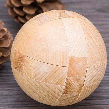 dřevěné hlavolamy