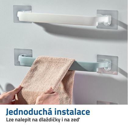 držák na ručníky bez vrtání