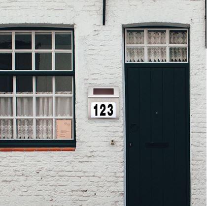 čísla popisné na dům