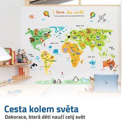 dětská mapa