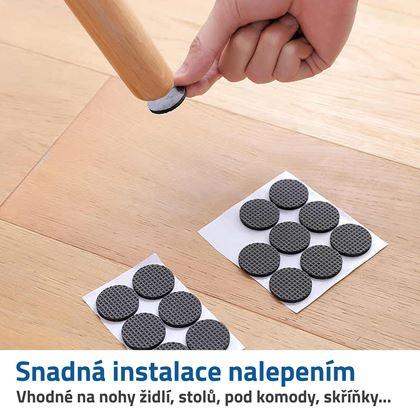 plstěné podložky pod nábytek
