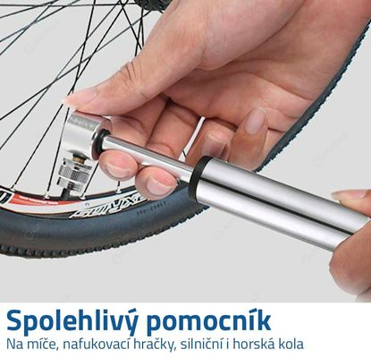 Minipumpička na kolo