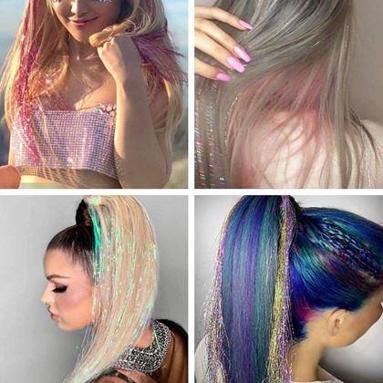 Pozlátko do vlasů