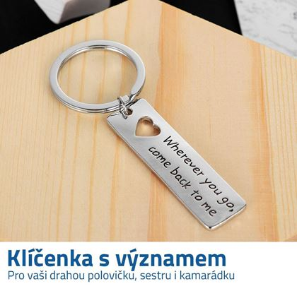 Klíčenky na klíče