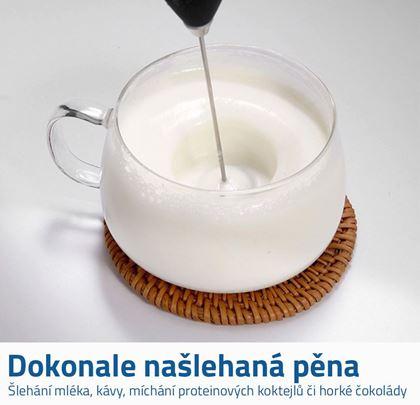 Ruční šlehač mléka
