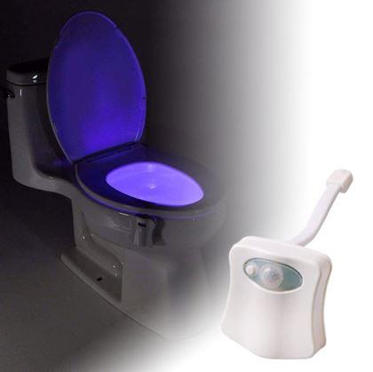 Světlo do wc