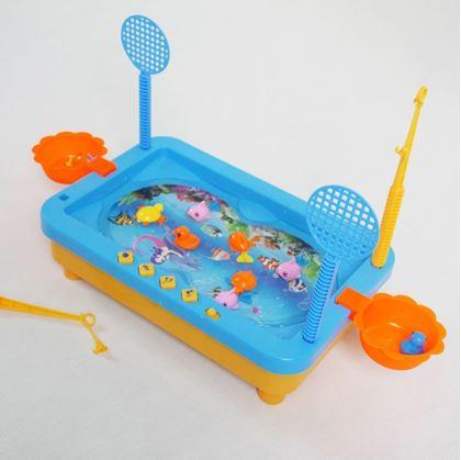 Hra s rybičkama