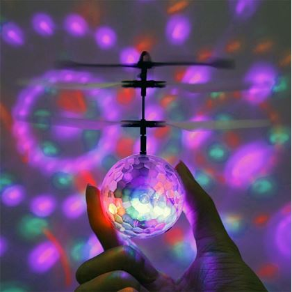 Létájící disco koule
