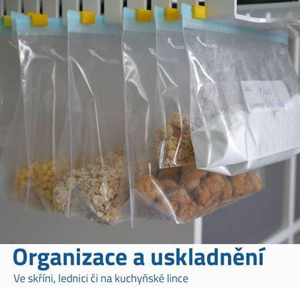 Výsuvný organizér se sáčky