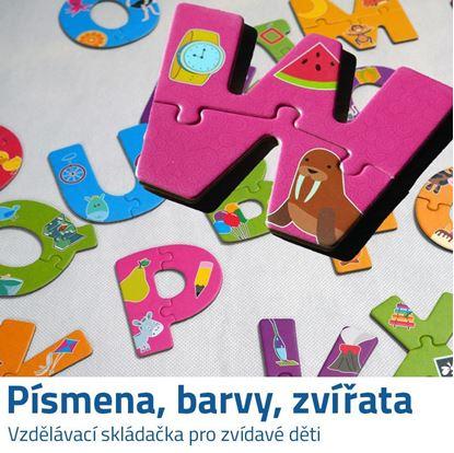Puzzle pro děti s písmeny