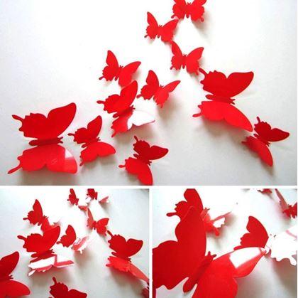 Samolepící motýlci