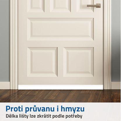 lišta do dveří